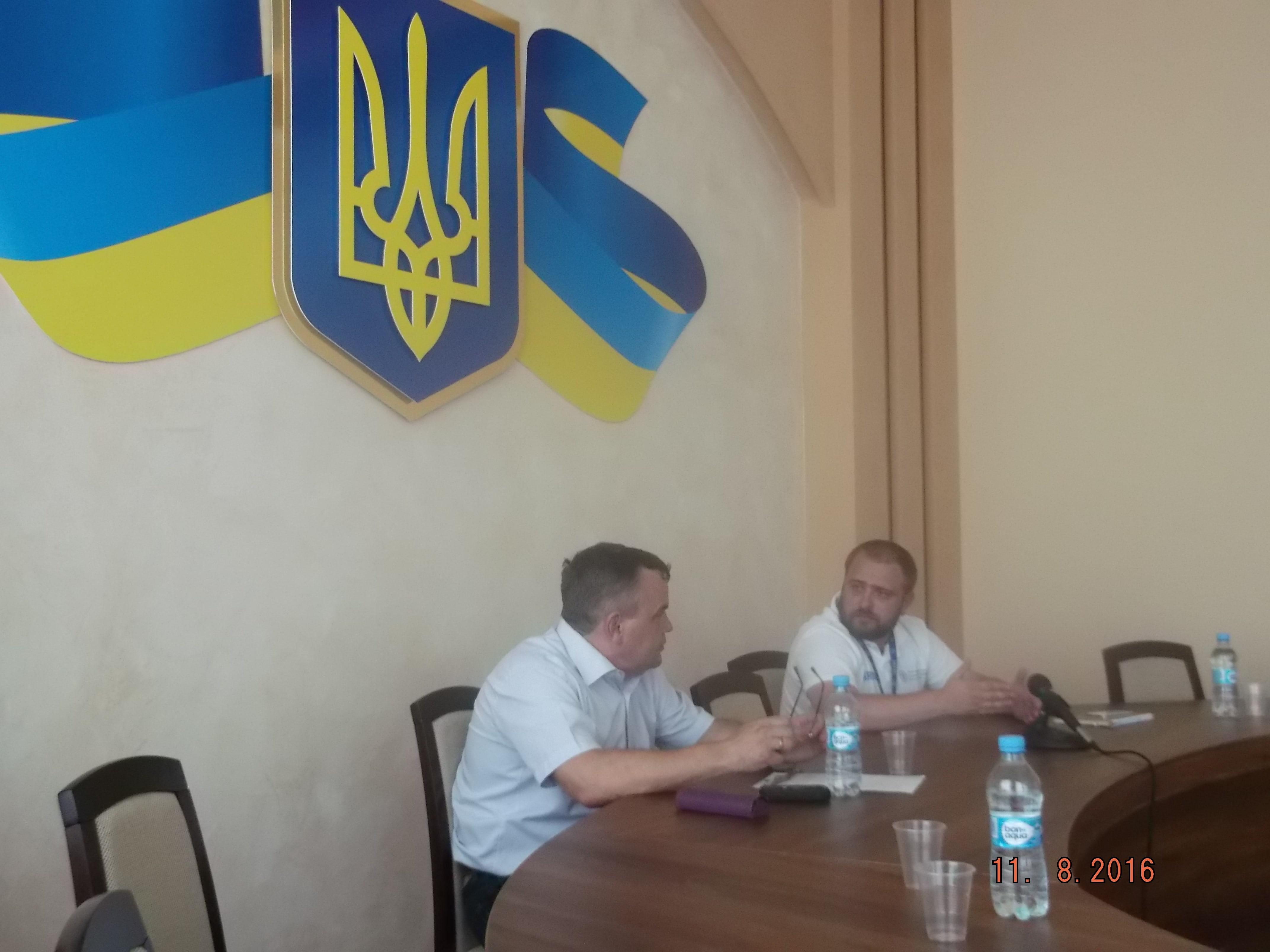 Відбулася кущова нарада у місті Покровськ