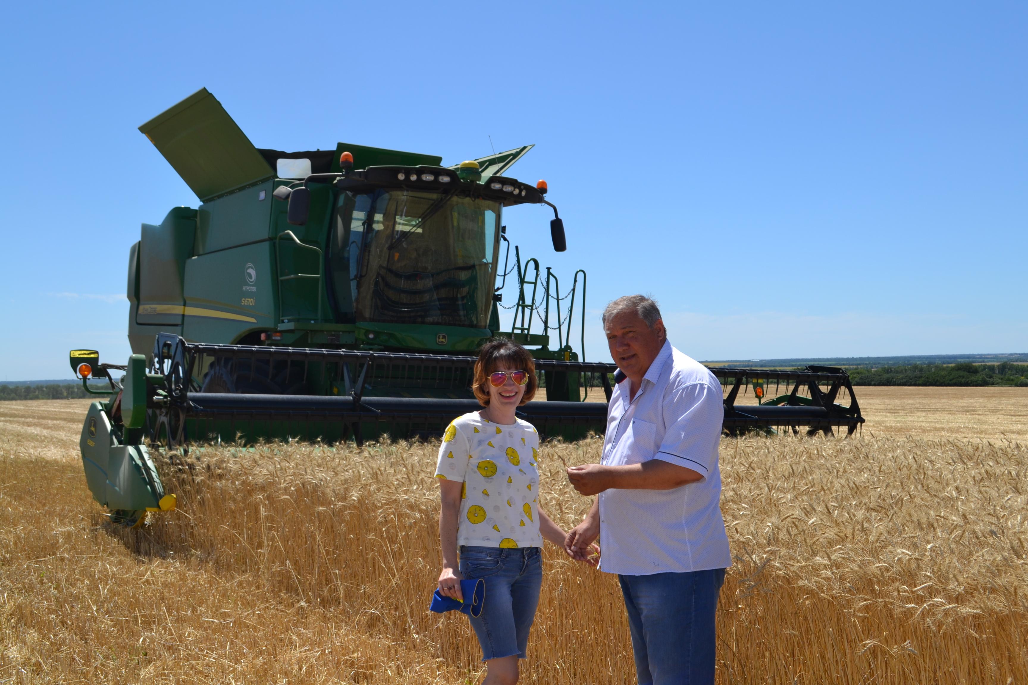 Перші на районі - ТОВ «Окнемер Агро» у Покровському р-н. завершили збирання ранніх зернових культур