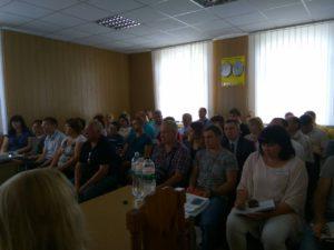 У Покровську відбувся семінар-тренінг для представників малого бізнесу та бажаючих відкрити власну справу
