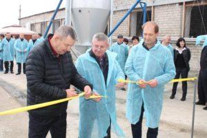 Відкриття доїльного залу із застосуванням роботів у виробництві молока в ТОВ «Нова Нива» Нікольського району