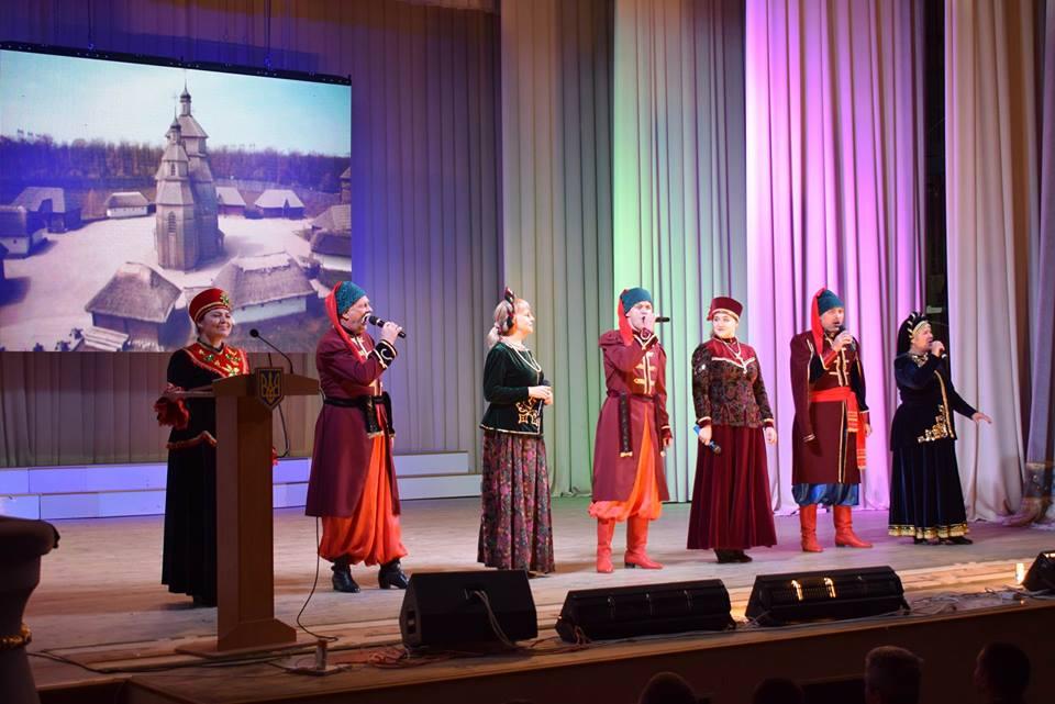 Як в місті Бахмут 14 жовтня пройшов День захисника України та Українського Козацтва
