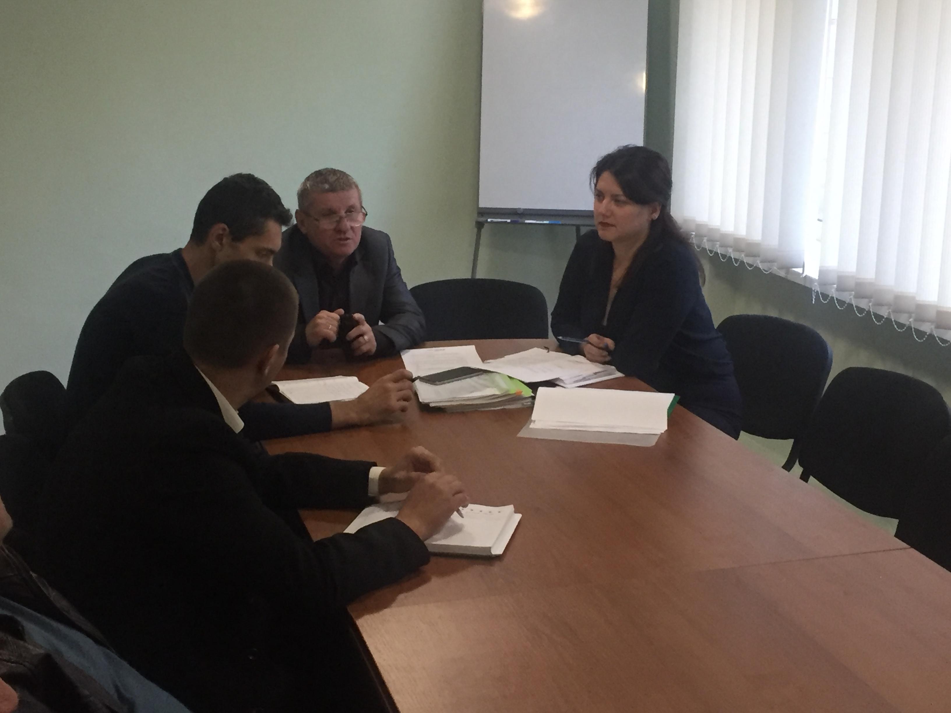 Відбулась нарада робочої групи щодо розробки проектів програм розвитку територій майбутньої Олександрівської ОТГ