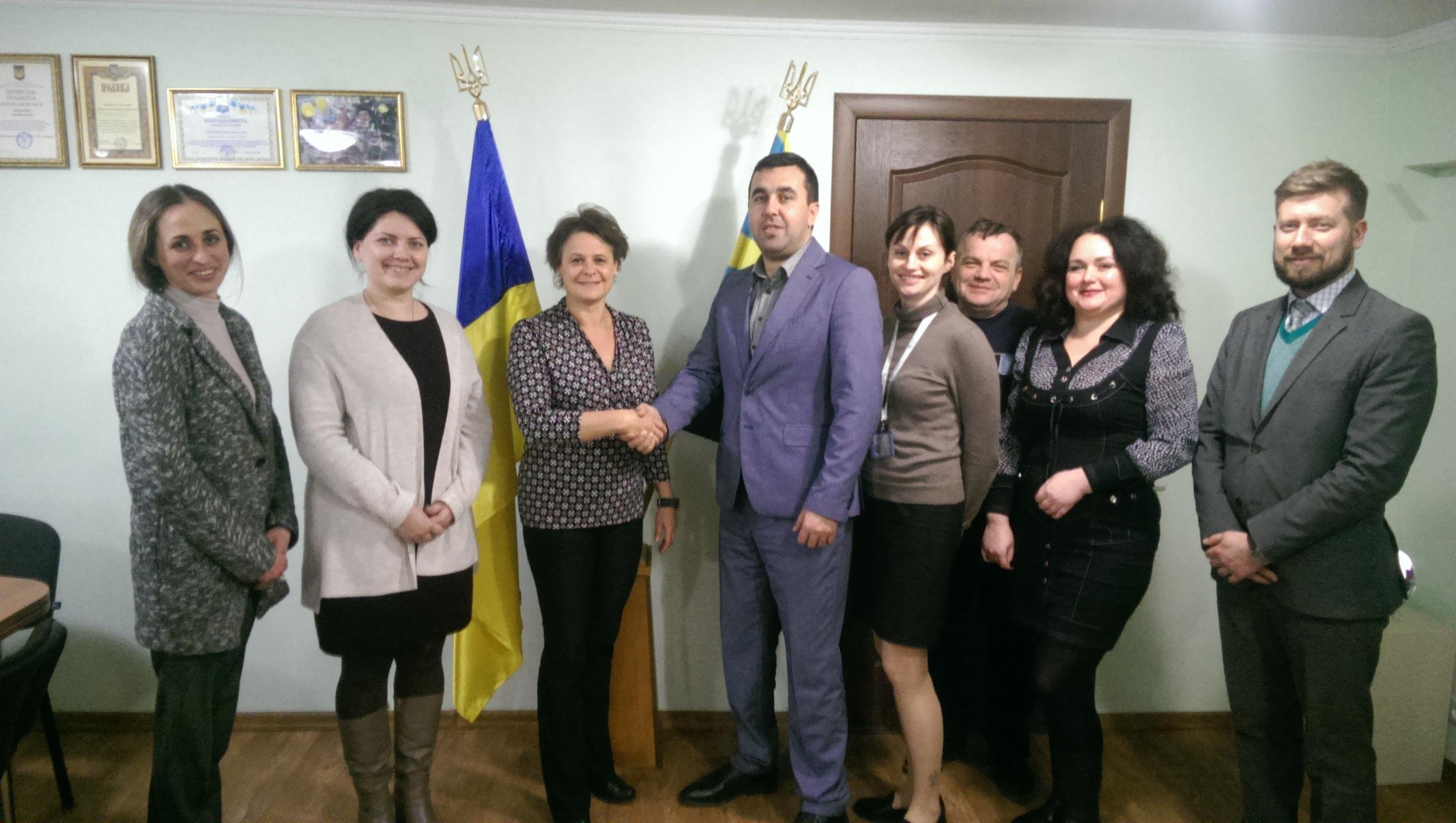 Представники проекту IFC «Аграрні розписки в Україні» відвідали департамент