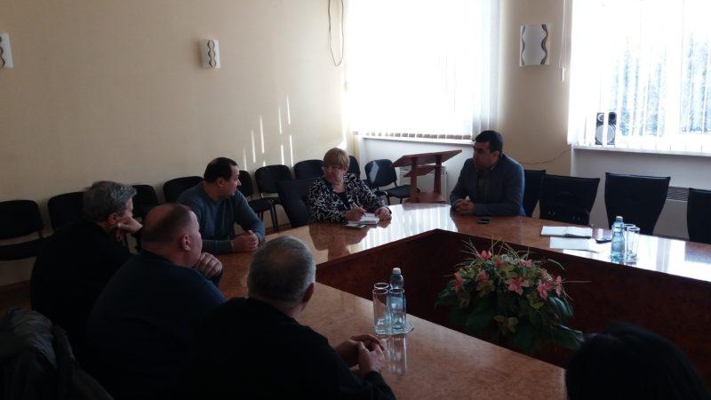 20 лютого 2018 року відбувся спільний виїзний прийом громадян директором департаменту в Соледарській міській ОТГ