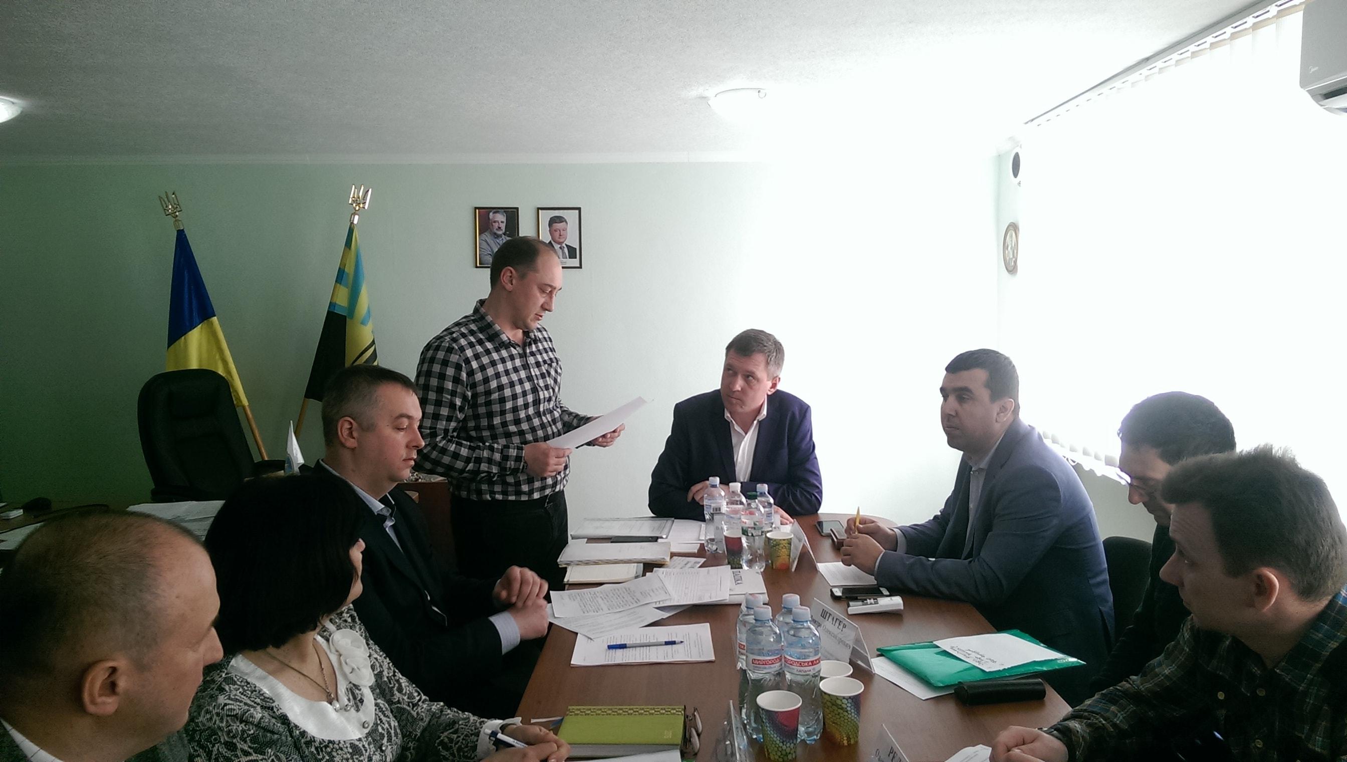 Було проведено перше засідання обласної комісії