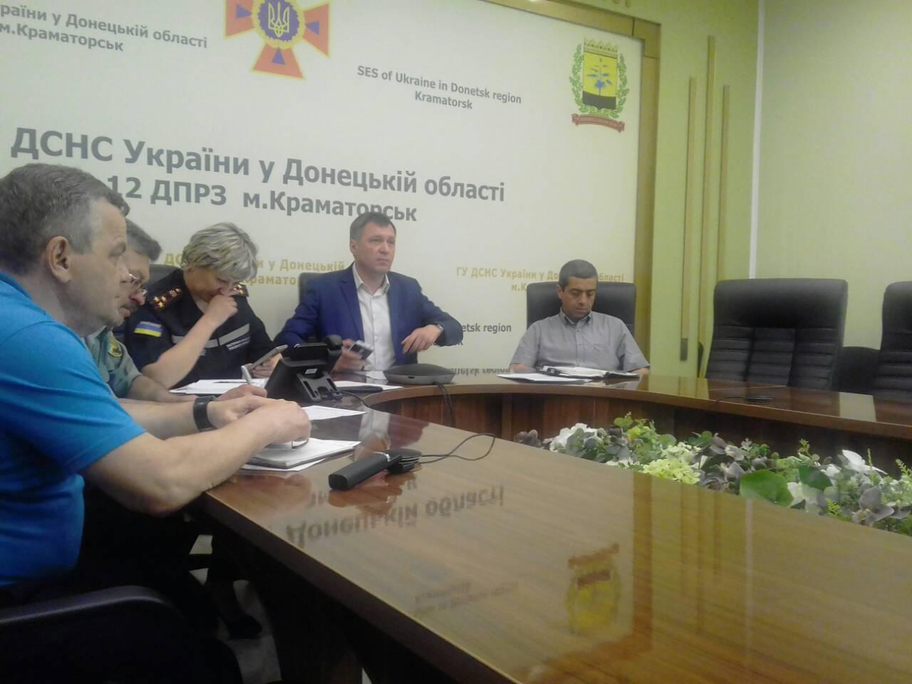 Департамент прийняв участь в позачерговому засіданні Державної комісії з питань техногенно-екологічної безпеки та надзвичайних ситуацій