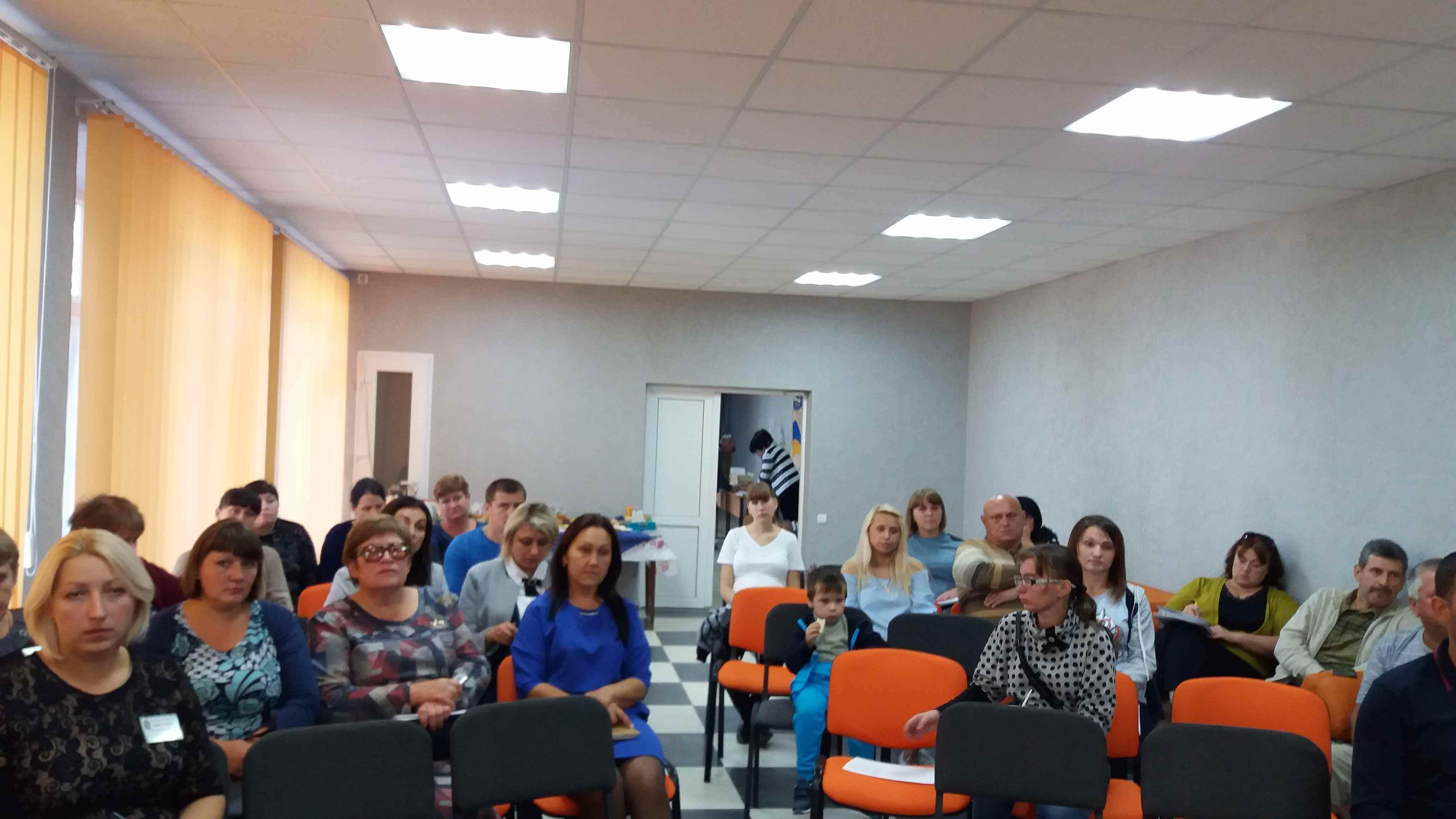 Навчання підприємницької діяльності в сільській місцевості в Черкаській ОТГ
