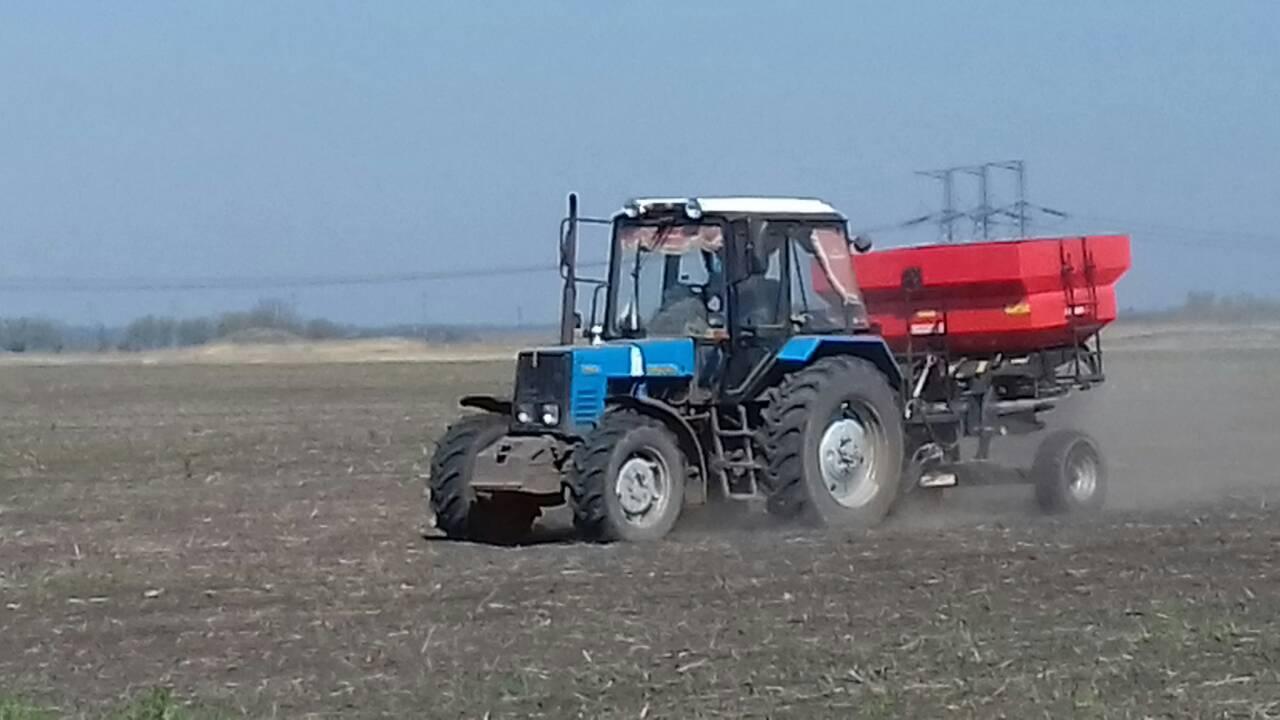 Стан проведення комплексу весняно-польових робіт на території Донецької області на 22.05.2019