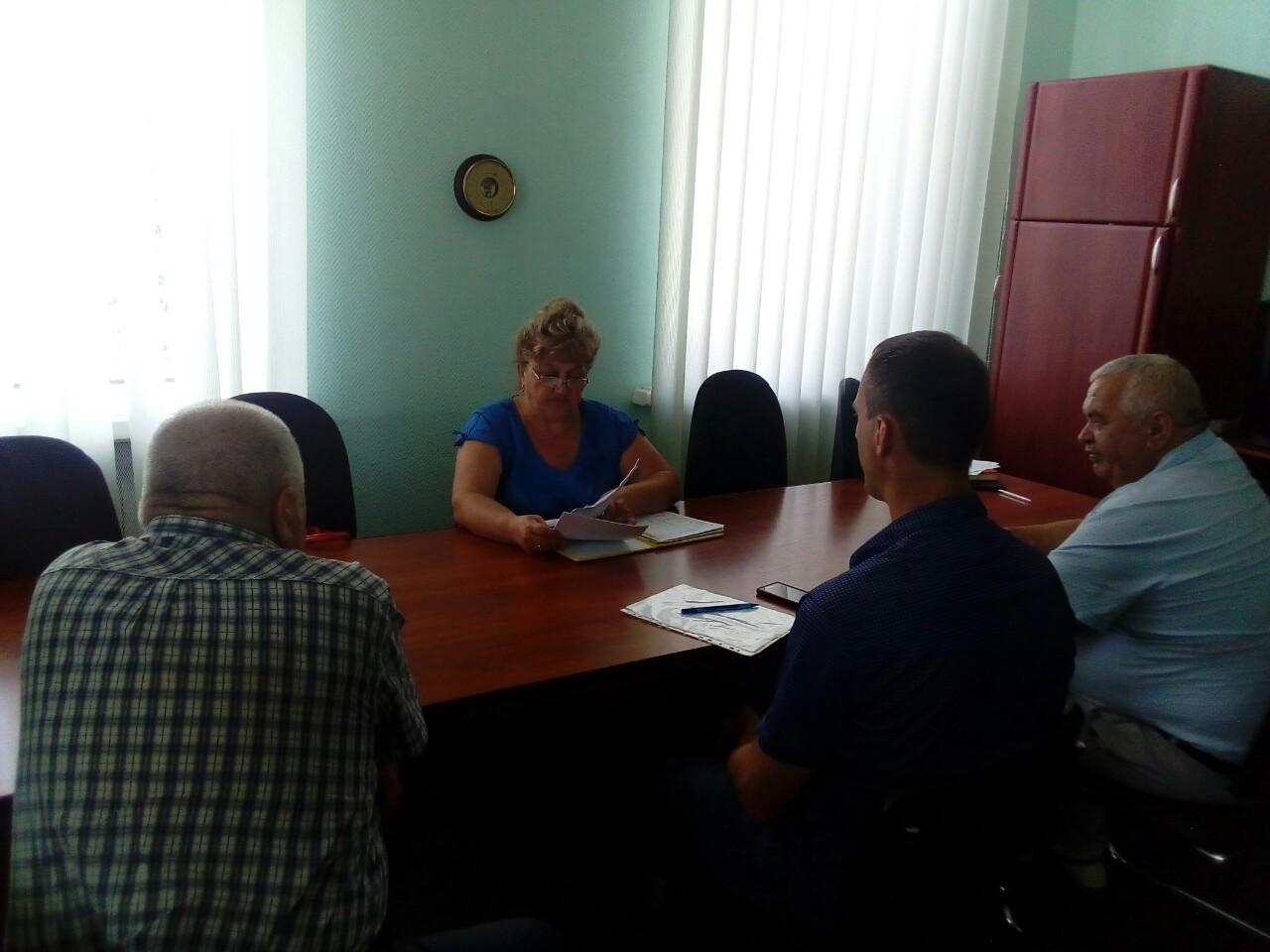 19 червня 2019 року було проведено виїзний прийом громадян в Олександрівської райдержадміністрації