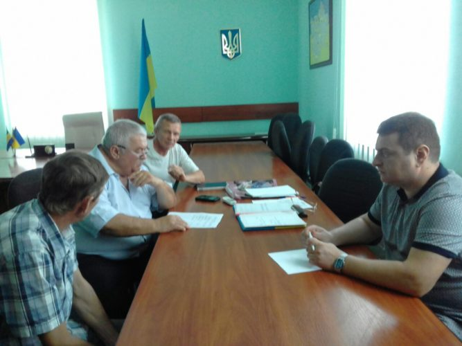 Відбувся виїзний спільний прийом громадян в смт. Олександрівка