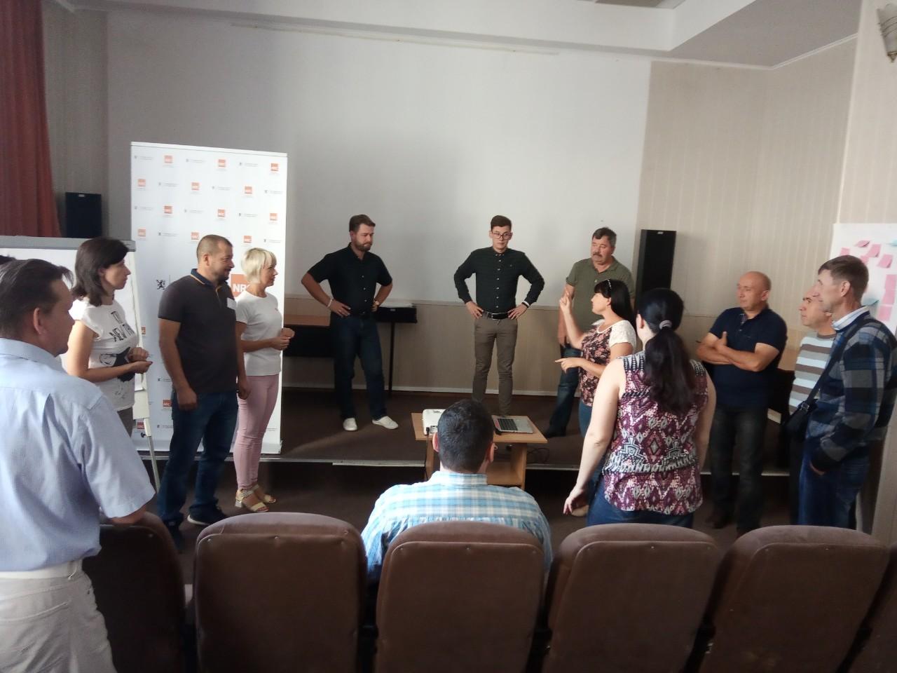 Норвезької ради у справах біженців в Україні організувала тренінг «Управління організацією та проектний менеджмент»