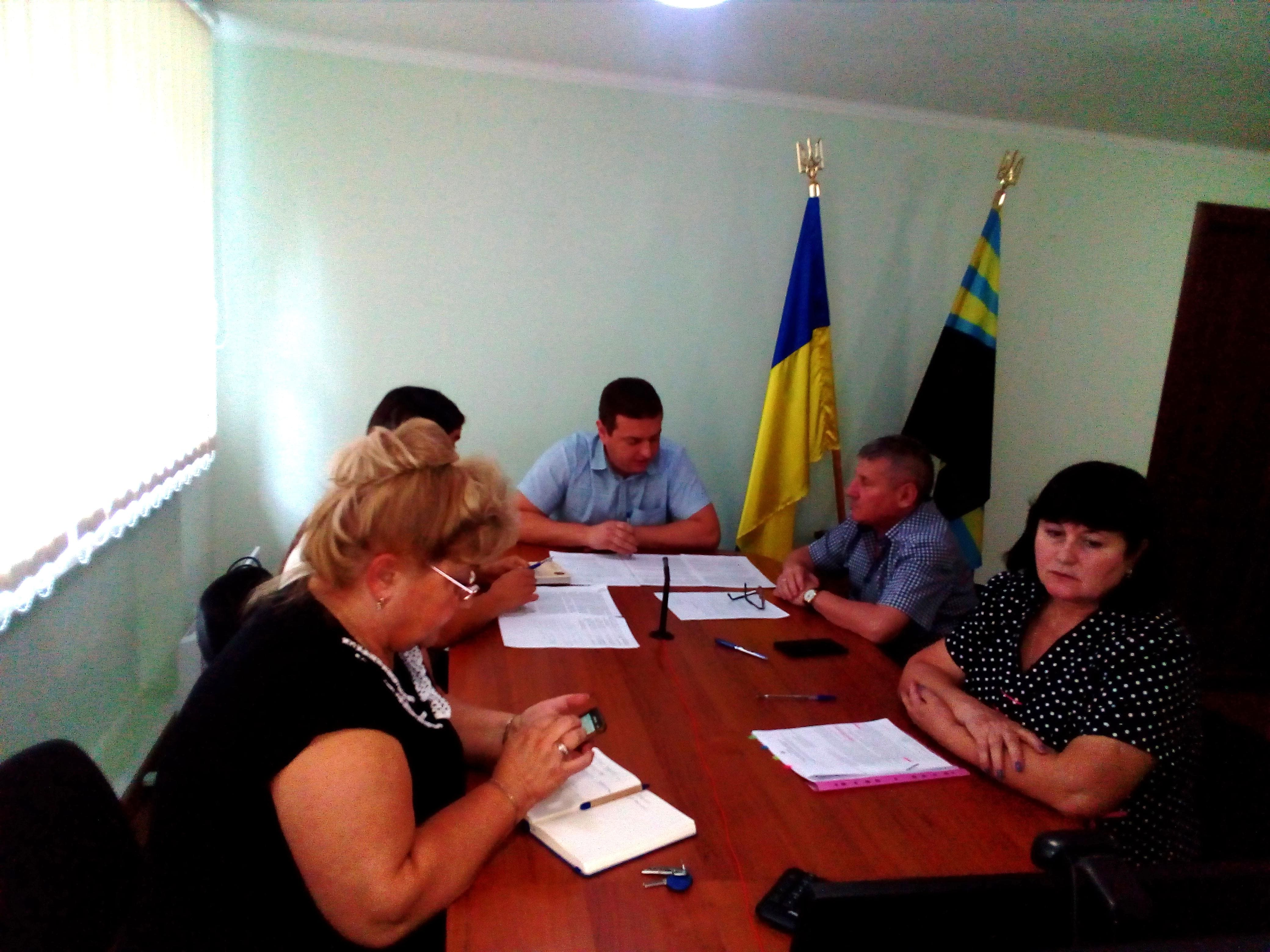 17 вересня у приміщенні департаменту відбулася відеоконференція керівництва департаменту
