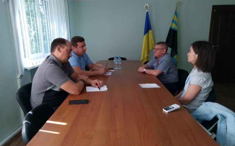 Відбулася зустріч з координатором офісу ФАО з реалізації проекту «Підтримка ЄС сходу України – відновлення, зміцнення миру та урядування»