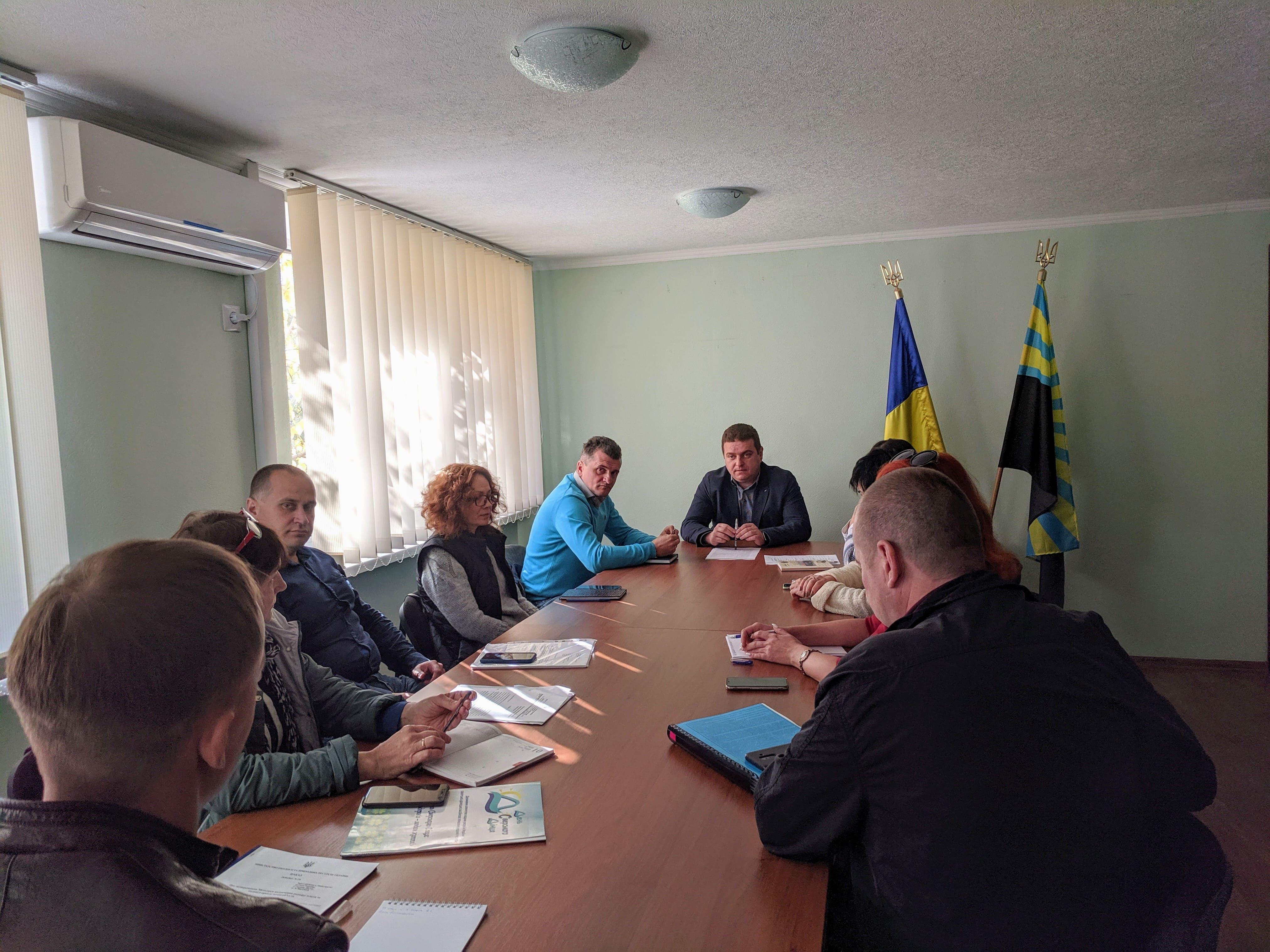 Відбулася нарада щодо поновлення договорів на підготовку лотів для продажу права оренди на земельних торгах
