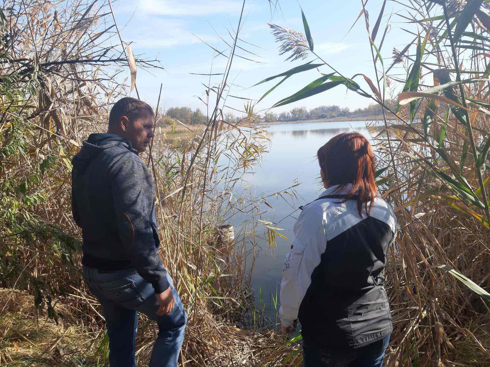 Обласною комісією з визначення переліку водних об'єктів було проведенно обстеження