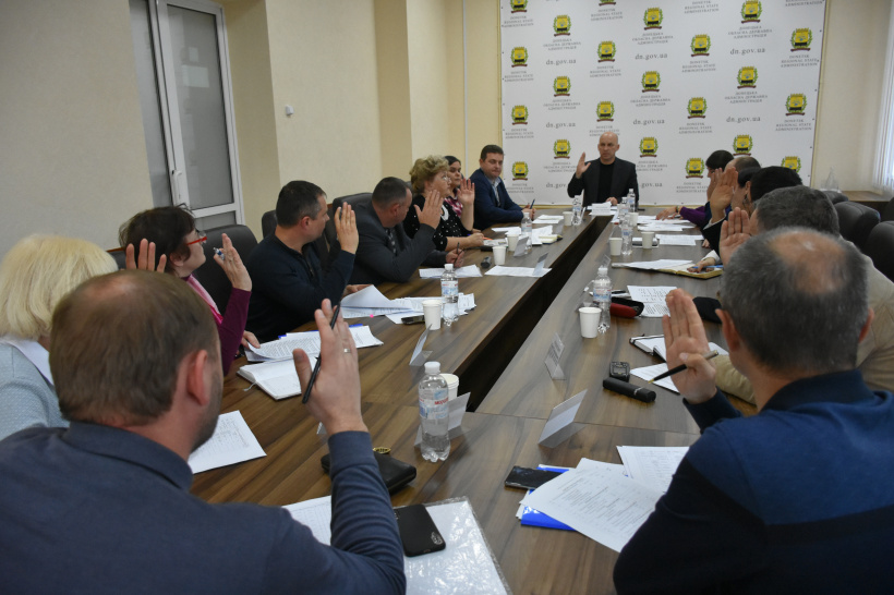 На засіданні комісії  з визначення переліку об'єктів продовжили терміни дії договорів оренди для водно-земельних власників