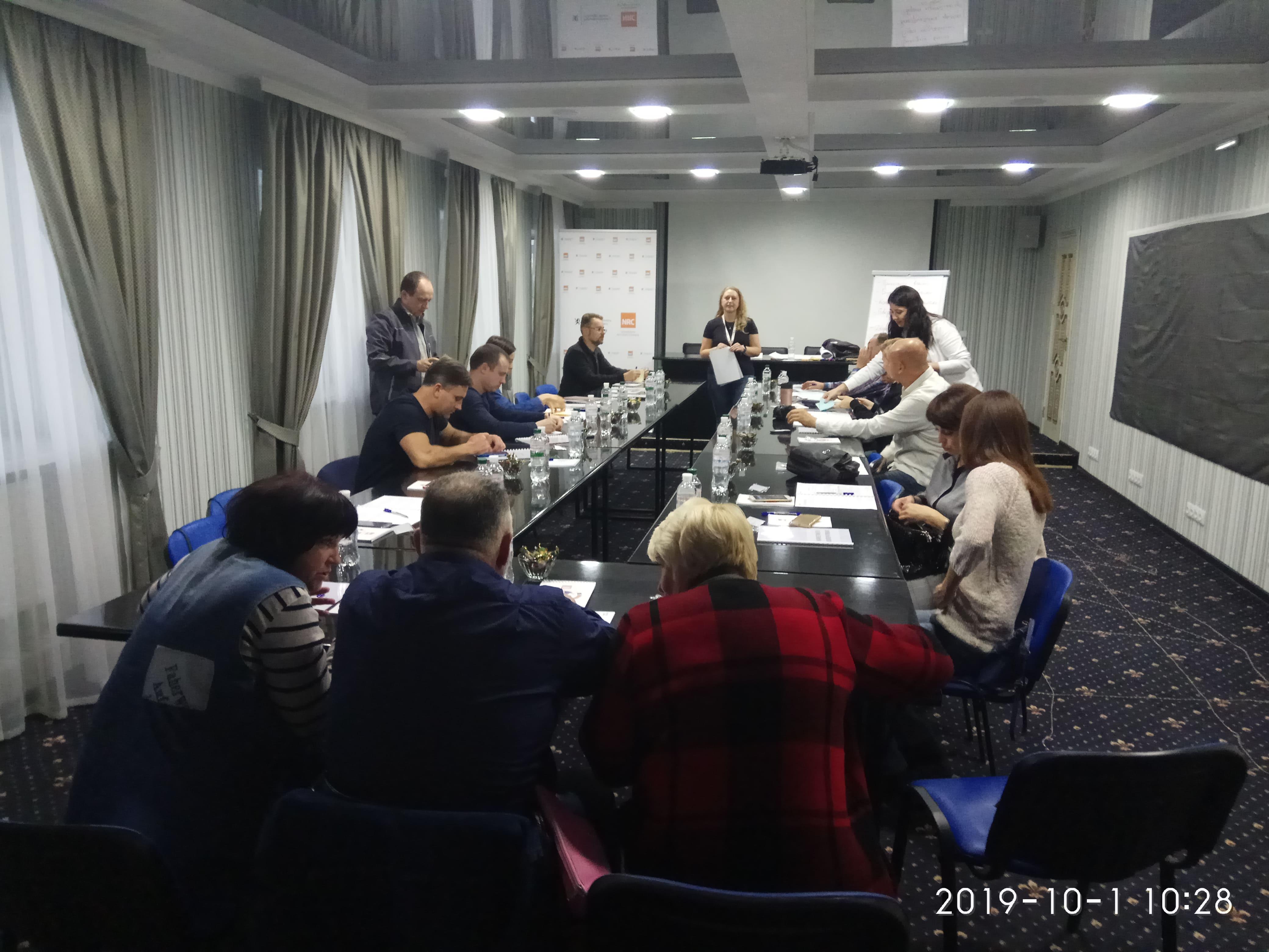 Спеціалісти департаменту взяли участь у тренінгу «Маркетинг в кооперативах»