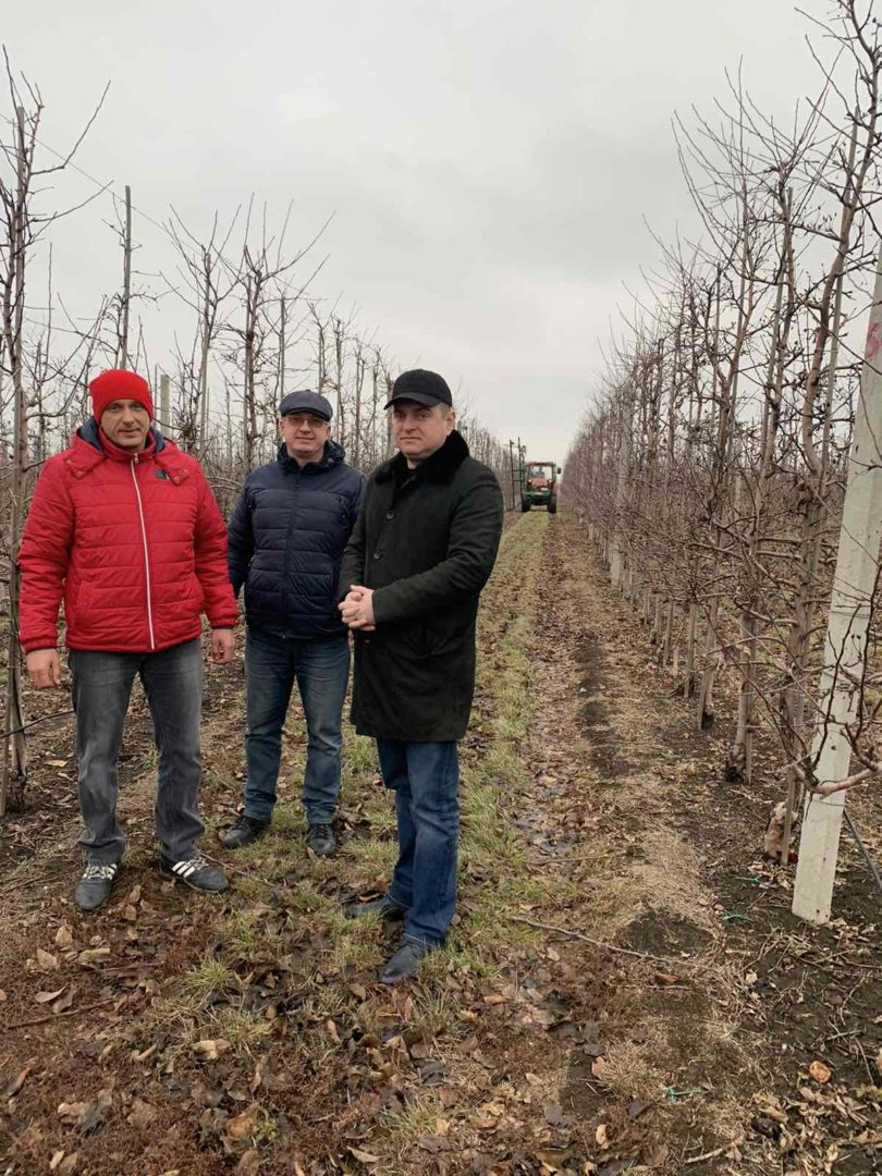 Керівництво департаменту здійснило робочу поїздку до ТОВ «Перспектива» Добропільського району