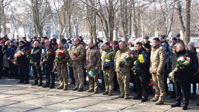 У Краматорську вшанували пам'ять загиблих від ракетного обстрілу п'ять років тому