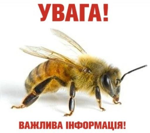 Інформація щодо заходів профілактики отруєння бджіл пестицидами!