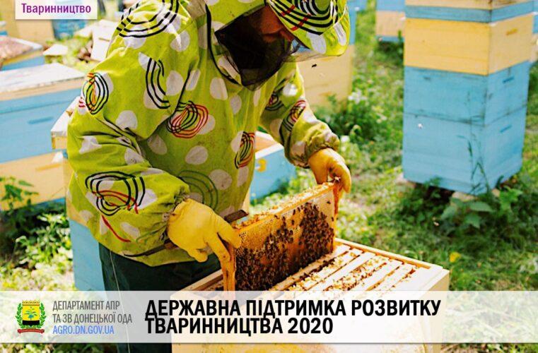 Державна підтримка розвитку тваринництва 2020