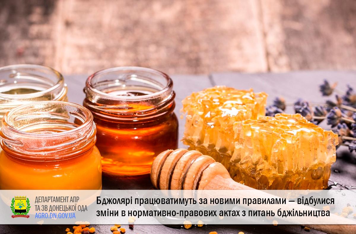 Бджолярі працюватимуть за новими правилами — відбулися зміни в нормативно-правових актах з питань бджільництва