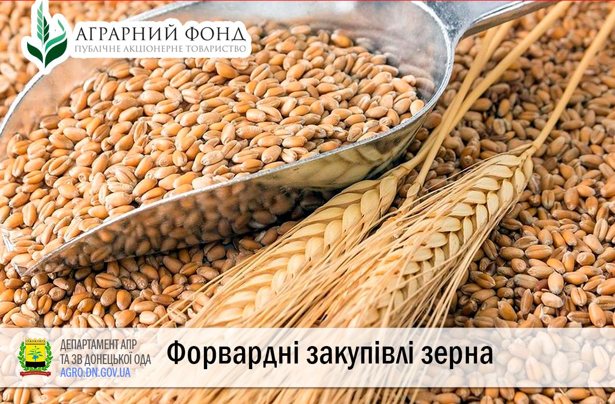Форвардні закупівлі зерна