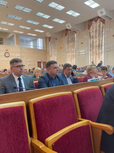 Директор департаменту взяв участь у заходах та зустрічі з Міністром аграрної політики з питань відновлення зрошуваних систем, початку роботи ринку землі в Україні